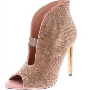 New rose gold bootie